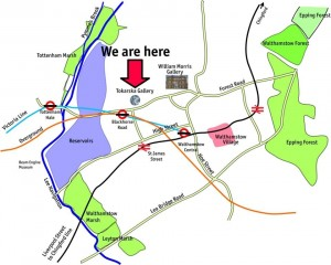 we are here map